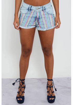 short-jeans-bordado