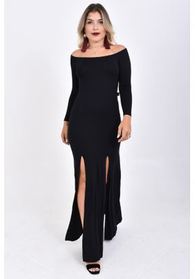 vestido-longo-manga-longa-fendas