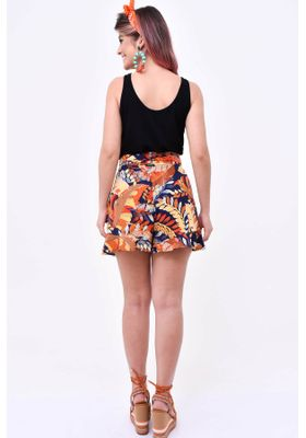short-estampado