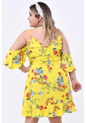 vestido-floral-viscose-com-babado
