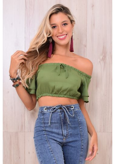 Top Cropped Viscose